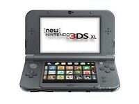 Used: New Nintendo 3ds XL - Metallic Black