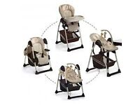 Hauck 2 in 1 Sit n Relax Highchair/bouncer