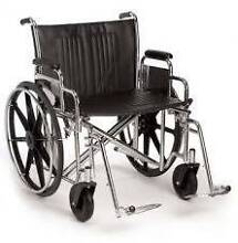 wheelchair manual breezy 600 wide lightweight & foldable Middle Park Port Phillip Preview