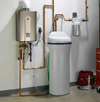 Water softener and Iron filter installation