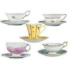 Blue Wedgewood Cup And Saucer 117