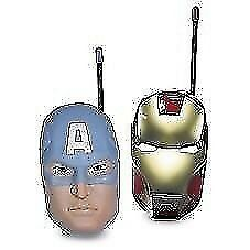 Avengers Walkie Talkies CAPTAIN AMERICAN AND IRON MAN