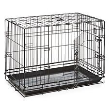 Dog Crate - Medium Approx Size 76cm x 53cm x 61cm.