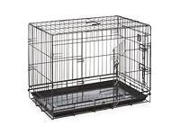 Dog Crate - Medium Approx Size 76cm x 53cm x 61cm.