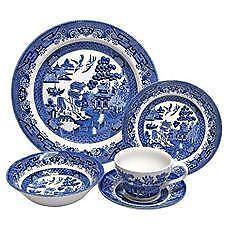 Blue Willow China Set Ebay