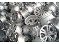 WANTED!! Alloy wheels, damaged/kerbed/ scrap