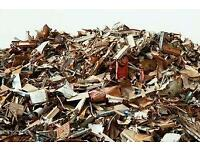 Collect SCRAP METAL/RUBBISH, pay best price cash , all areas in London