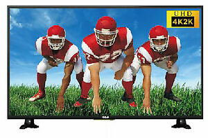 "55 "" rca 1 yrs old like new tv flat super hd 2160 p not smart tv"
