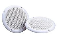 """4"""" Round Ceiling Speaker 60W With Moisture Resistant Twin Cone 4 Ohm"""