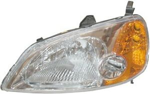 Honda Civic Headlight 2001 2002 2003 2004 2005