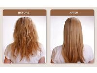 keratin Blowdry Treatment ,amazing results- Dec offer £90 for long hair -£60 for short !!