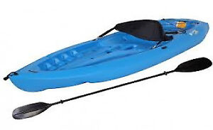 Lifetime Lotus Sit-On-Top Kayak with Paddle, Blue, 8-Feet *NEW*