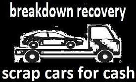 breakdown recovery, transporter, scrap cars for cash, non runners m.o.t failures