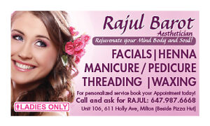 Esthetic services,Threading Waxing@ resonable rate in Milton Oakville / Halton Region Toronto (GTA) image 3