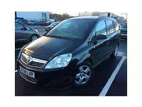 2008 Vauxhall ZAFIRA 1.6 EXCLUSIVE 5 Door Hatchback