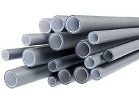 Plumbing fittings plumbers heating pipes clips grey white.BARGAIN!......