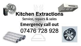 KITCHEN CANOPY,FAN ,DUCT FIT, SUPPLY AND CLEANING With Certification TR/19 or BSEN 15780