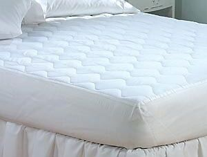 Quilted Fitted Nonallergenic Mattress Pad Topper Twin Full