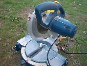 "10 1/2 "" compound miter saw used very little $50.00"