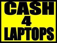 LAPTOPS WANTED: We buy laptops in all conditions!