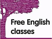 FREE ENGLISH CLASSES!!!!!