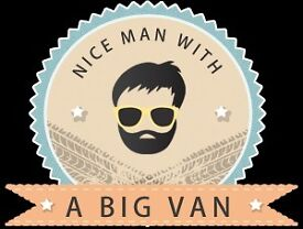 NICE MAN WITH A BIG VAN Service - Long Wheel Base VW - Immediate Quote