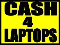 I buy broken and used laptops