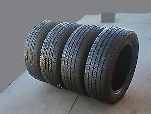 4 pneus neuf 225/65/17 yokohama advi 100t comme neuf a 10/32 bon