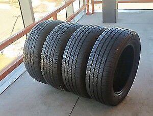 4 pneu d été 225/45/18 goodyear eagle sport 95w a 10/32 on roule