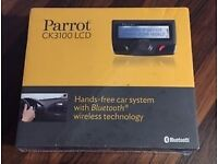 **SEALED** PARROT CK3100 LCD HANDS FREE CAR SYSTEM BRAND NEW WITH BLUETOOTH WIRELESS TECHNOLOGY