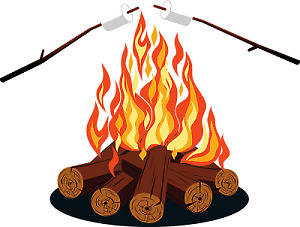 Camp firewood for sale.