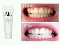 AP24 Nuskin Whitening fluoride toothepaste