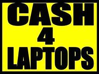 I buy used and broken laptops