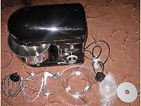 Cooks Professional Electric Food Stand Mixer With Bowl / Splashguard New in box