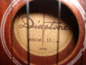 Diastone UKE & case rare #11  Old...TLC needed,$30.00
