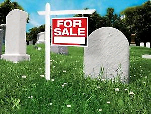 how to buy a cemetery plot