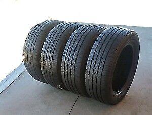 4 pneu d été 275/55/20 bridgeston dueler HT 111H bon pour 3 été