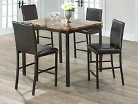 BRAND NEW FAUX MARBLE PUB SET****REG $499