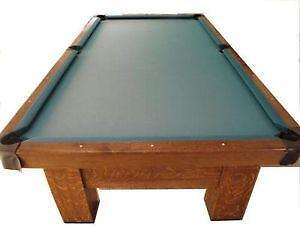 Brunswick Balke Collender Pool Table