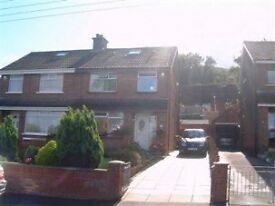SUPERB 3 BEDROOM SEMI-DETACHED HOUSE SITUATED ON THE UPPER WHITEWELL ROAD, ANTRIM ROAD, BELFAST