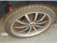 Audi vw 18 inch alloys seat 5x112