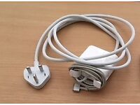 45W Magsafe 2 Power Adaptor suitable for use with an Apple MacBook Air or similar.