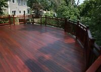 Outdoor staining / sealing protect your wood from weather damage