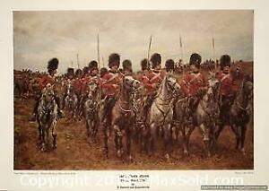 "ROYAL SCOTS GREYS ""ON THE MARCH 1896â€"