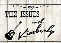 New Country Band for Hire - The Issues with Kimberly