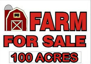 100 ACRE FARM FOR SALE ONLY $599,950!