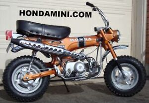 HONDA CT70 COMPLETE EXHAUST SYSTEM z50 crf50 atc70