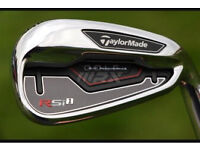 Taylormade Rsi1 irons 4-pw brand new reg shafts