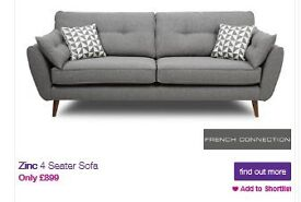 Zinc French Connection Sofas
