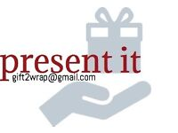 Personalised Gift Wrapping Service. additional gift sourcing
